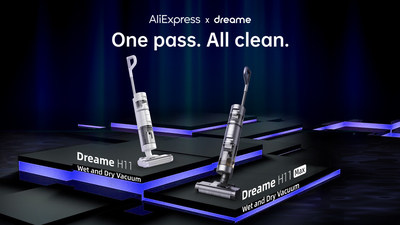 Dreame H11 and H11 Max Wet and Dry Vacuums: One pass. All clean.