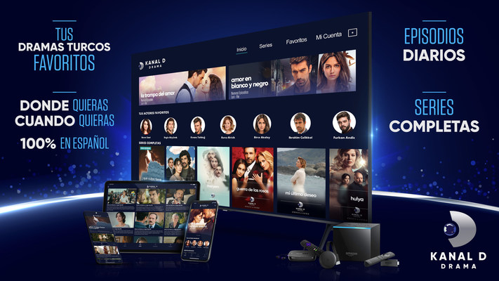 Kanal D Drama app - tus novelas turcas favoritas 100% en español, cuando quieras, donde quieras